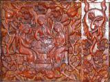 Детайл от входна порта - къщата на майстора