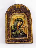 Икона - Дева Мария и Христос на кръста