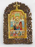Икона Дева Мария и Апостолите
