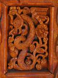 Детайл от входна порта - дома на Майстора