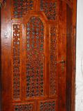 Входна врата - дома на Майстора, дърворезба