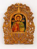 Христос - дърворезба
