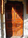 Входна врата на църква с. Поповяне